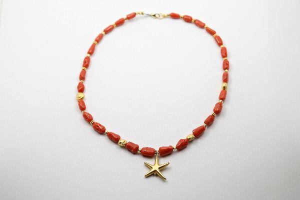Collana-corallo-e-stella
